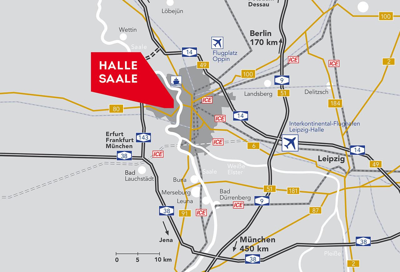halle-karte